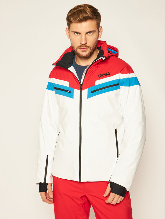 Colmar Colmar Kurtka narciarska Golden Eagle 1356 1VC Biały Regular Fit