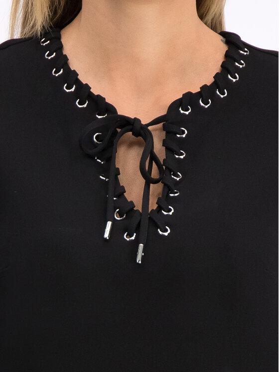 MICHAEL Michael Kors MICHAEL Michael Kors Kleid für den Alltag MU98YZ47AW Schwarz Regular Fit