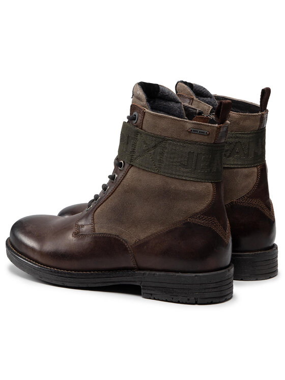 Pepe Jeans Pepe Jeans Botki Tom Cut Mix Space PMS50173 Brązowy