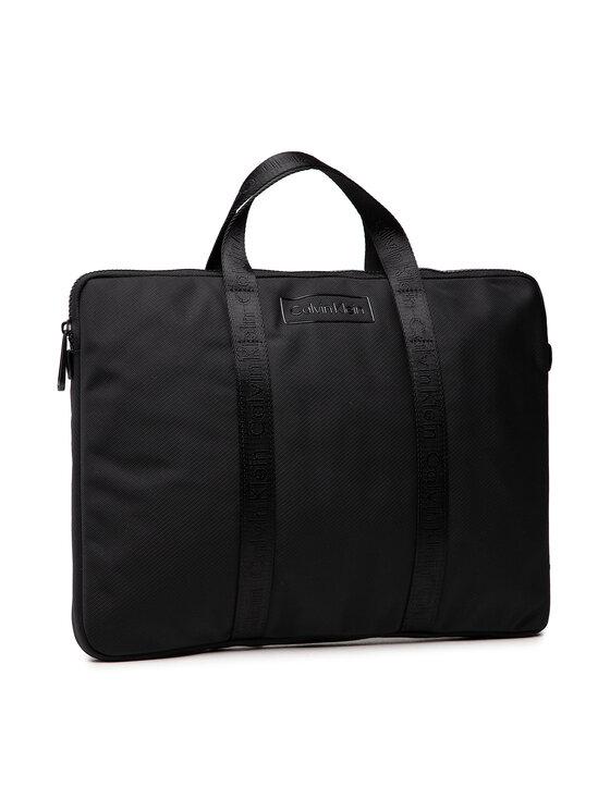 Calvin Klein Calvin Klein Torba na laptopa Code Laptop Sleeve K50K507249 Czarny