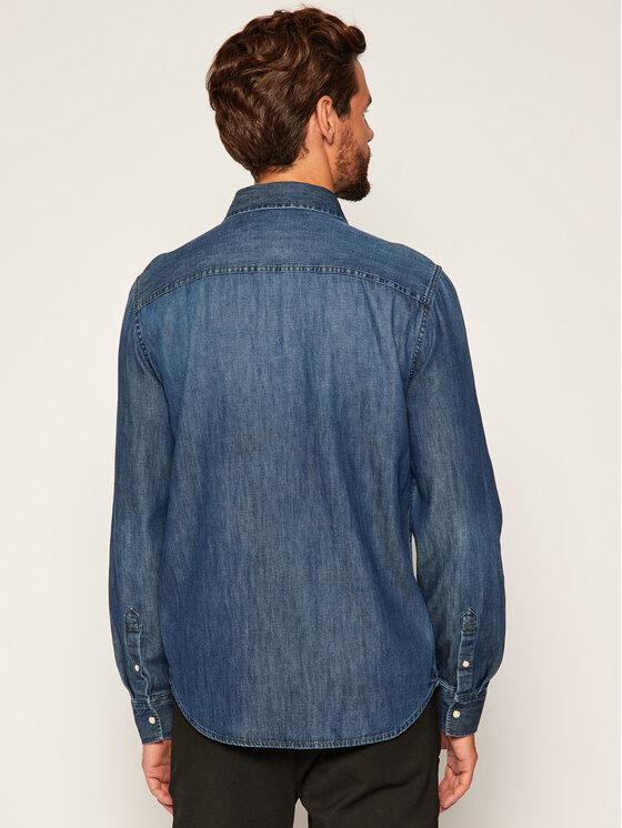 Calvin Klein Jeans Calvin Klein Jeans Marškiniai Western J30J314392 Tamsiai mėlyna Regular Fit