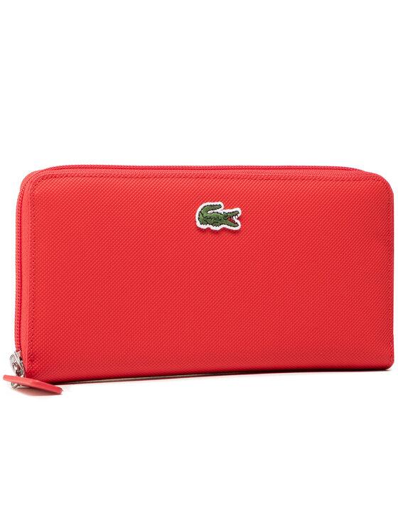 Lacoste Didelė Moteriška Piniginė L Zip Wallet NF2900PO Raudona