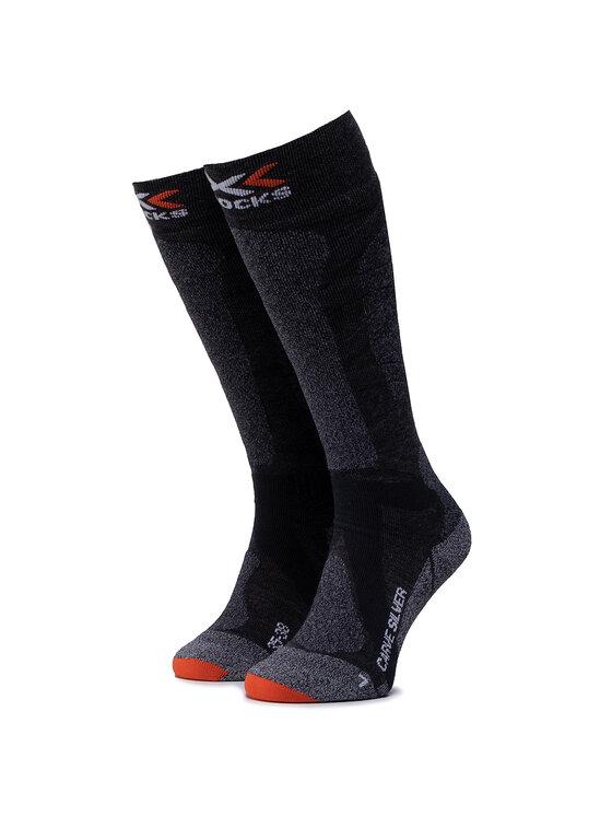 X-Socks Ilgos Moteriškos Kojinės Carve Silver 4.0 XSSS47W19U Pilka