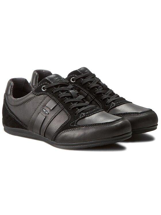 Geox Geox Sneakers U Houston A U62P1A 0CL22 C9999 Schwarz