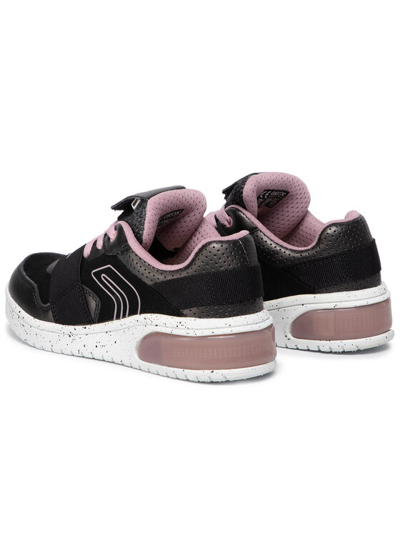 Geox Geox Sneakersy J Xled G. A J928DA 0NF6K C0618 S Čierna