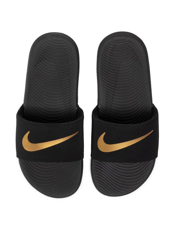 Nike Nike Klapki Kawa Slide (Gs/Ps) 819352 003 Czarny