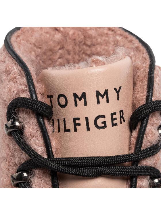 Tommy Hilfiger Tommy Hilfiger Scarponcini Cosy Outdoor Bottie FW0FW04349 Rosa