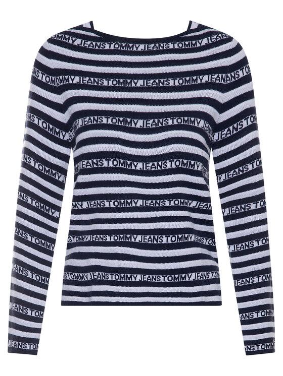 Tommy Jeans Tommy Jeans Sweter DW0DW07991 Kolorowy Slim Fit