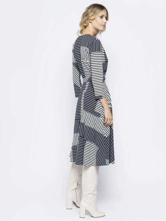 Sportmax Code Sportmax Code Φόρεμα κοκτέιλ Acqua 56210507 Σκούρο μπλε Skinny Fit