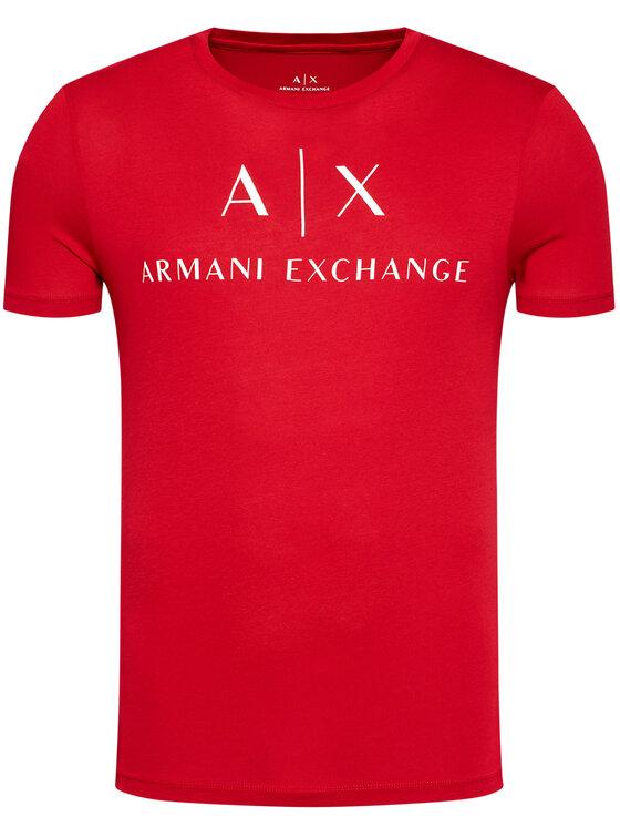 Armani Exchange Armani Exchange T-Shirt 8NZTCJ Z8H4Z 1463 Červená Slim Fit