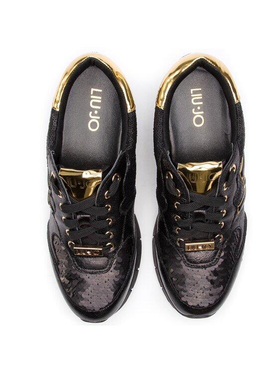 Liu Jo Liu Jo Sneakersy Gigi 02 B19019 EX006 Čierna