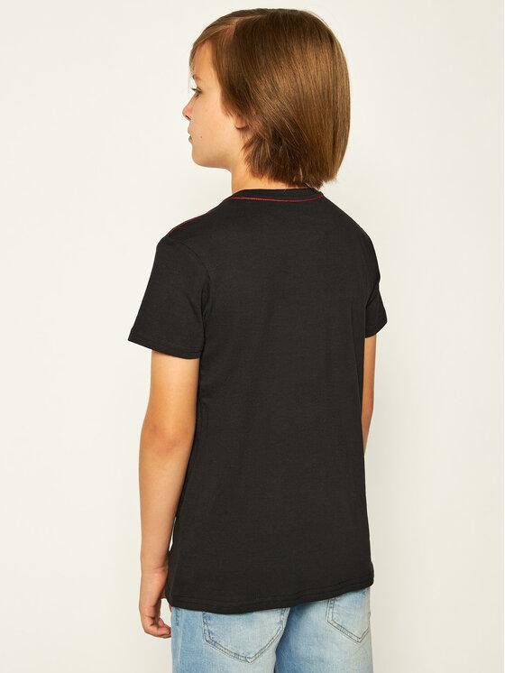 Guess Guess T-Shirt L73I55 K5M20 Schwarz Regular Fit