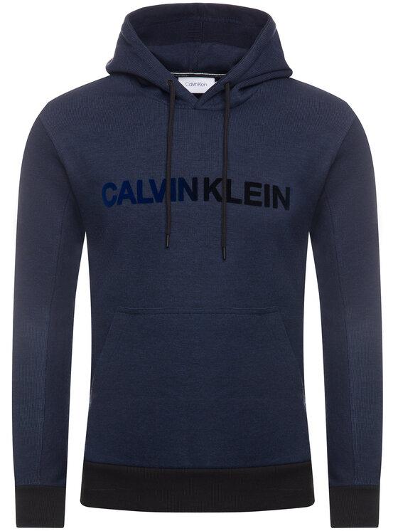Calvin Klein Calvin Klein Sweatshirt Tone On Tone Logo K10K104954 Bleu marine Regular Fit