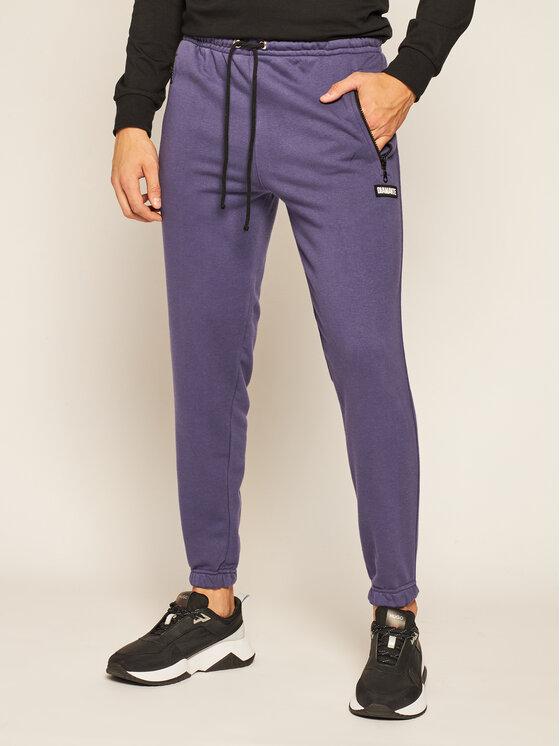 Diamante Wear Sportinės kelnės Petite 5383 Violetinė Regular Fit