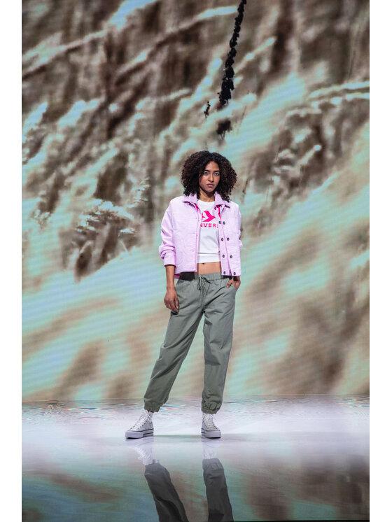 Converse Converse Kurtka jeansowa My Story Utility 10021081-A03 Różowy Regular Fit