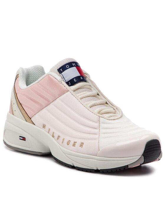 Tommy Jeans Tommy Jeans Sneakers Wmn Heritage Tommy Jeans Sneaker EN0EN00400 Rosa