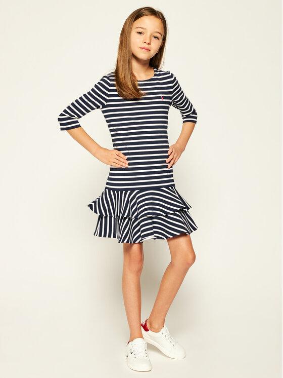 Polo Ralph Lauren Polo Ralph Lauren Sukienka codzienna Spring II 313784200 Granatowy Regular Fit