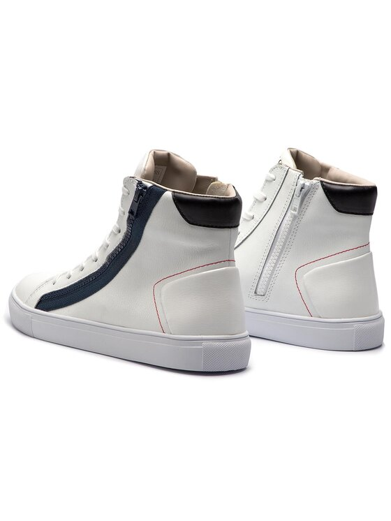 Guess Guess Sneakersy Luiss Hi FM5LHI LEA12 Bílá