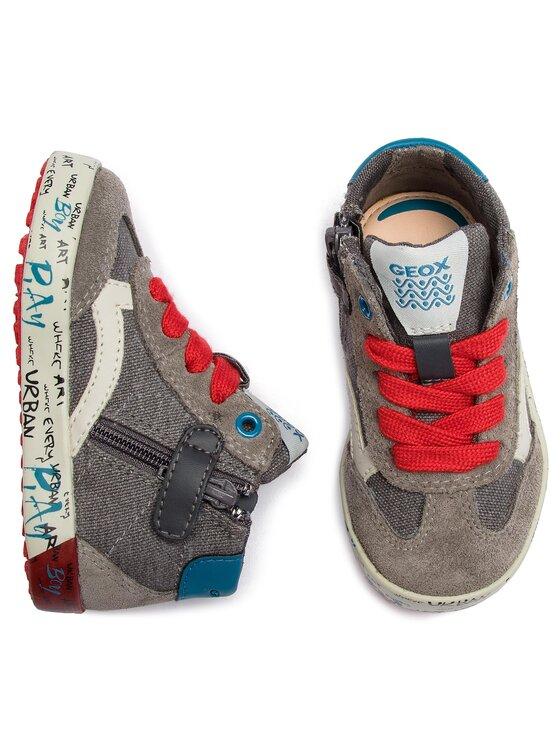 Geox Geox Sneakersy B Kilwi B. E B92A7E 01022 C1102 M Sivá