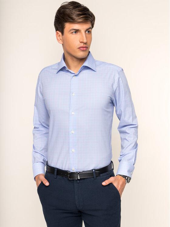 Eton Marškiniai 100000000 Mėlyna Slim Fit