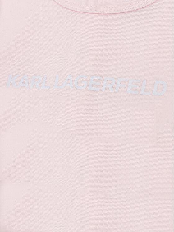 KARL LAGERFELD KARL LAGERFELD Śpiochy Z97030 Różowy