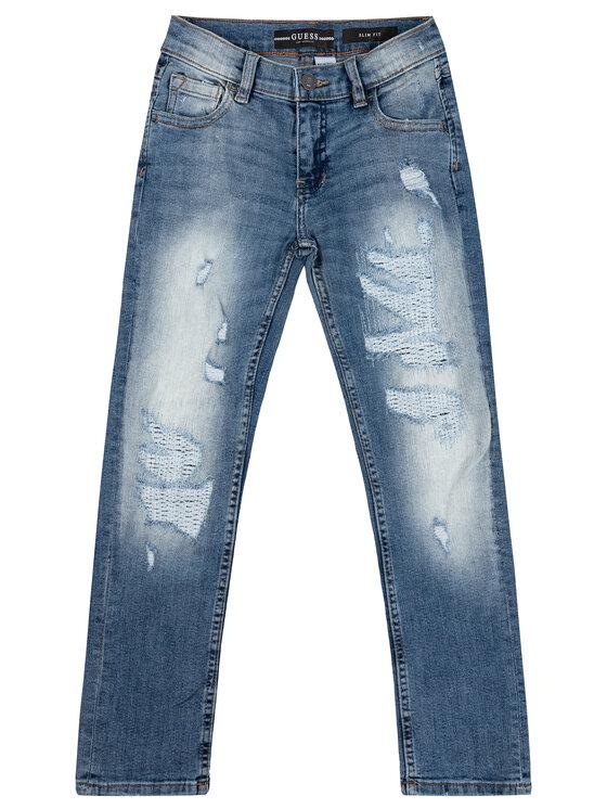 Guess Guess Džinsai L93A05 D3QT0 Tamsiai mėlyna Slim Fit