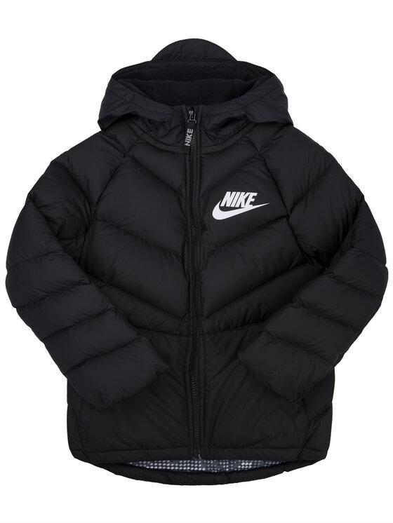 Nike Nike Μπουφάν πουπουλένιο 939557 Μαύρο Regular Fit