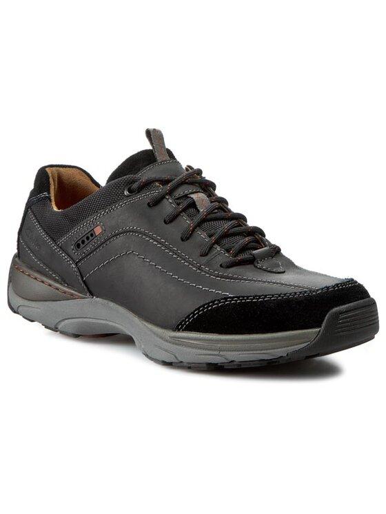 Clarks Clarks Обувки Skyward Vibe 203585567 Черен