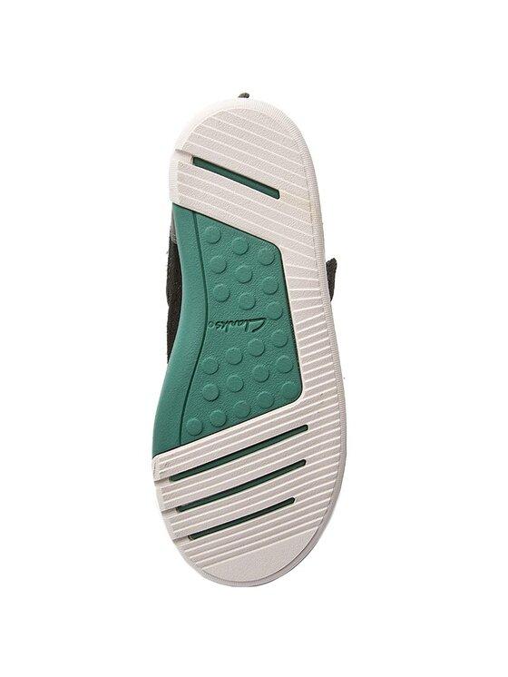 Clarks Clarks Šnurovacia obuv Lilfolktex Inf 26127011 Čierna