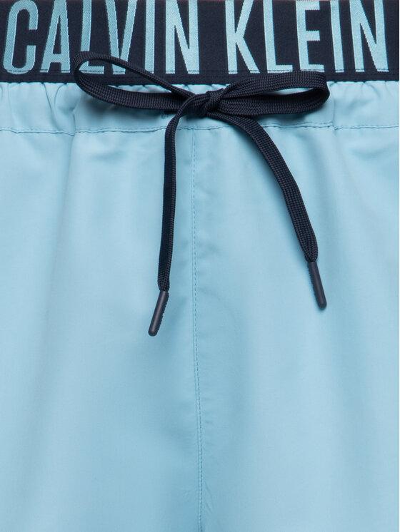 Calvin Klein Swimwear Calvin Klein Swimwear Badeshorts Drawstring Wb KM0KM00460 Blau Regular Fit