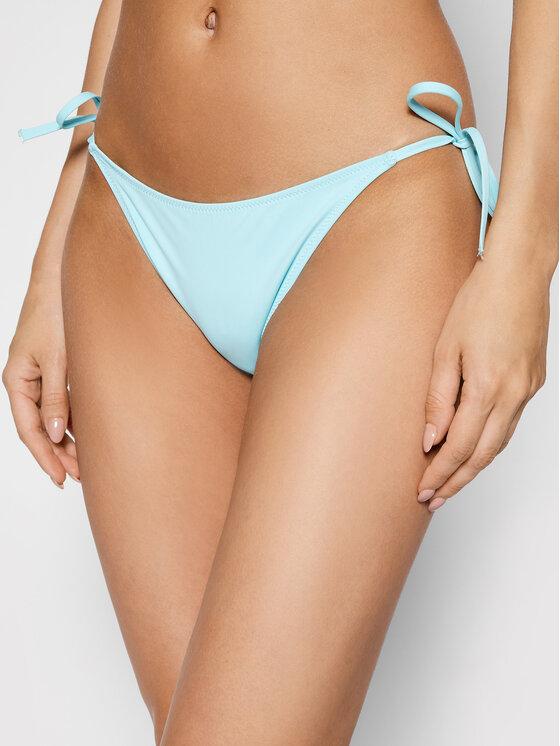 Calvin Klein Swimwear Bikinio apačia KW0KW01405 Mėlyna