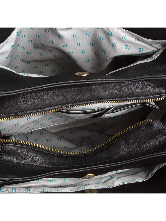 Trussardi Trussardi Jeans Дамска чанта Rabarbaro 75B00428 Тъмносин