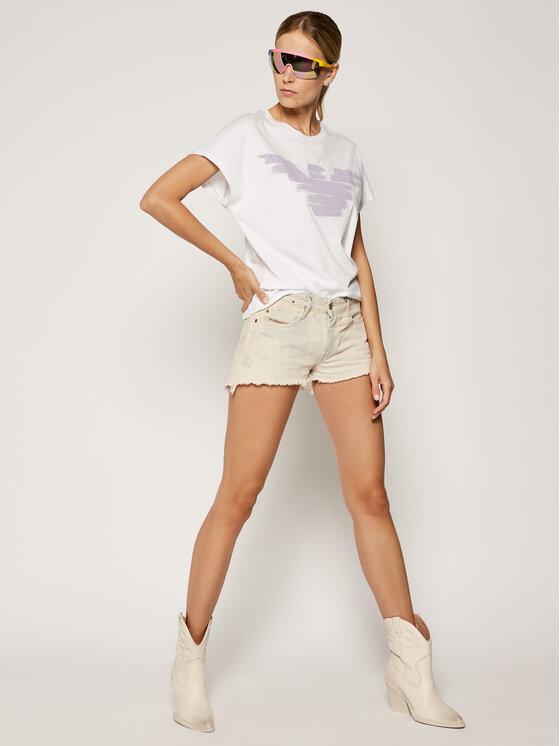 Emporio Armani Emporio Armani T-Shirt 6G2T7S 2JSYZ 0100 Biały Regular Fit