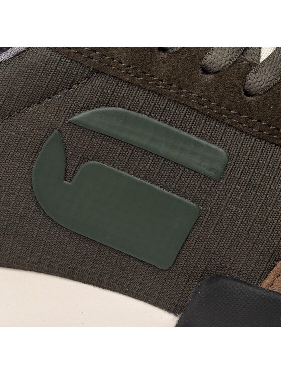 G-Star Raw G-Star Raw Sneakersy Rackam Rovic D14045-B702-723 Zielony