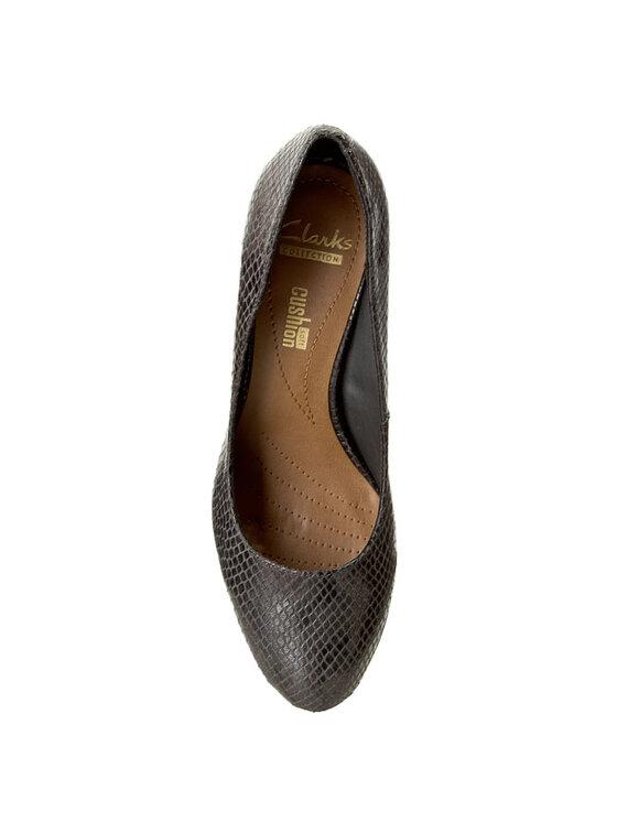 Clarks Clarks Κλειστά παπούτσια Arista Abe 261110674 Γκρι