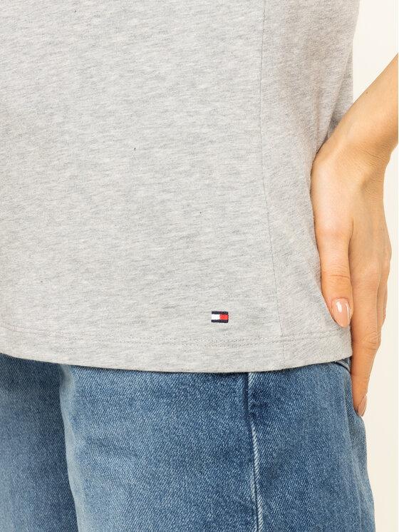 TOMMY HILFIGER TOMMY HILFIGER T-Shirt Penny WW0WW26661 Γκρι Regular Fit