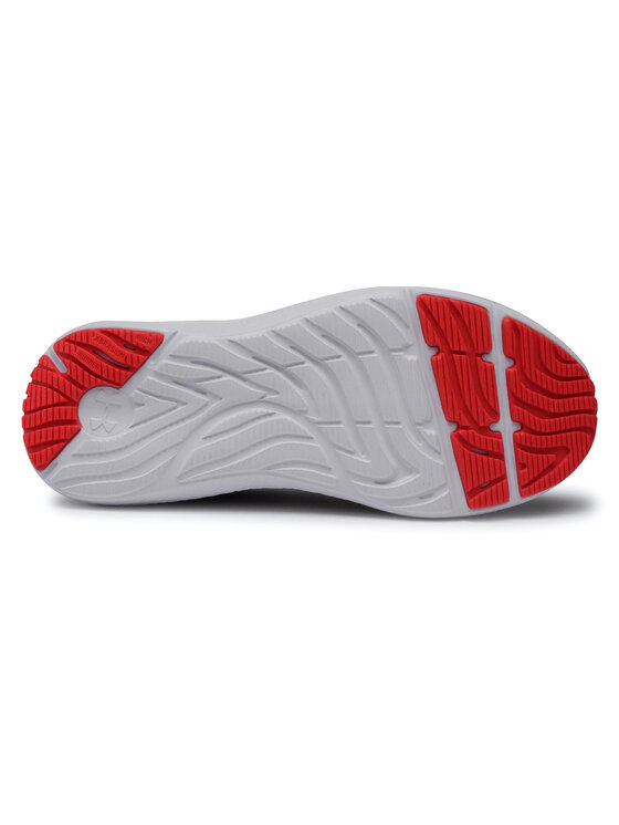 Under Armour Under Armour Buty Ua Gs Charged Pursuit 2 3022860-102 Szary