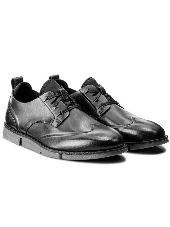 Clarks Clarks Pantofi Trigen Wing 261283467 Negru