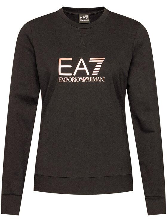 EA7 Emporio Armani EA7 Emporio Armani Mikina 8NTM39 TJ31Z 212 Černá Regular Fit