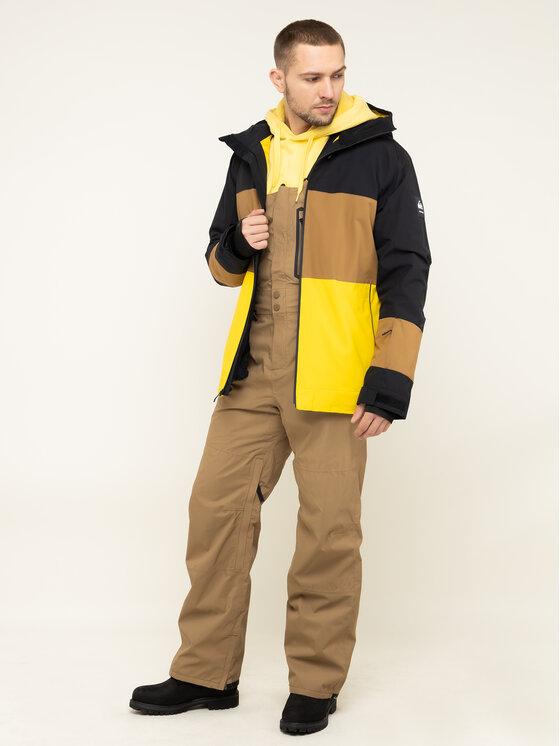 Billabong Billabong Παντελόνι σκι North West Stx Bib Q6PM05 BIF9 Καφέ Regular Fit
