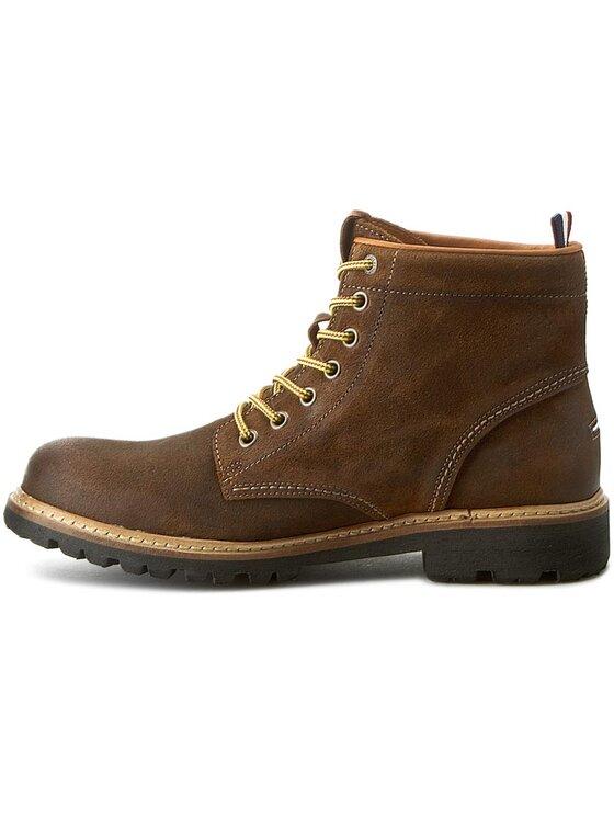 Tommy Hilfiger Tommy Hilfiger Ορειβατικά παπούτσια DENIM Luca 8B EM56821805 Καφέ