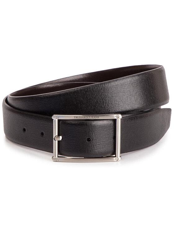 Trussardi Trussardi Jeans Curea pentru Bărbați Business Affair Kit 71L00079 Negru