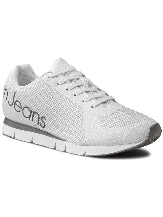 Calvin Klein Jeans Calvin Klein Jeans Sneakersy Jack SE8526 Biały