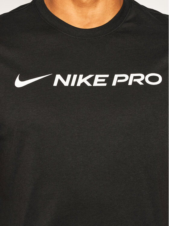 Nike Nike T-Shirt Dri-Fit CD8985 Czarny Standard Fit