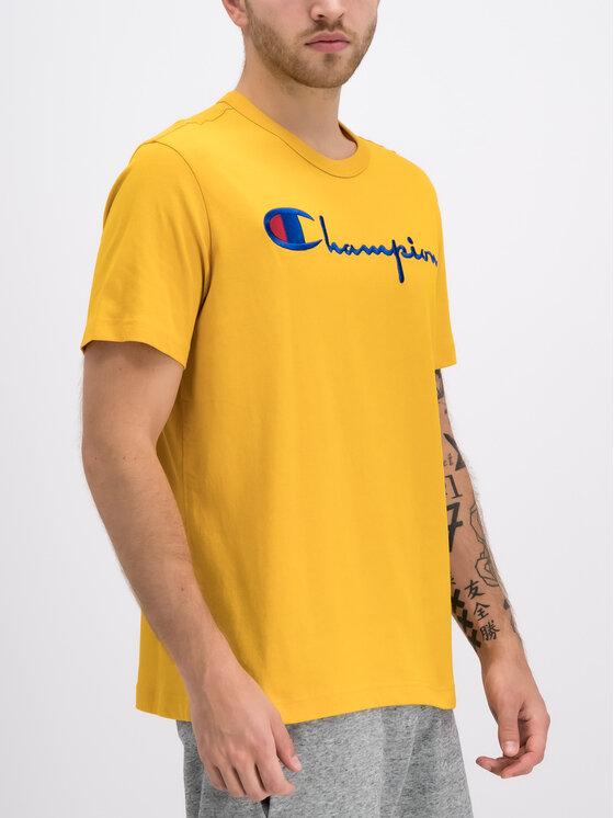 Champion Champion T-shirt 210972 Jaune Regular Fit