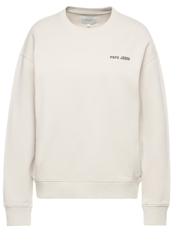 Pepe Jeans Pepe Jeans Bluza Beatriz PL580909 Beżowy Regular Fit