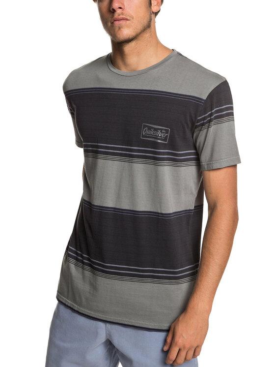 Quiksilver Quiksilver T-Shirt EQYKT03849 Szary Regular Fit