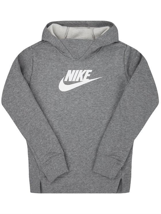 Nike Nike Mikina Sportswear BV2717 Sivá Regular Fit