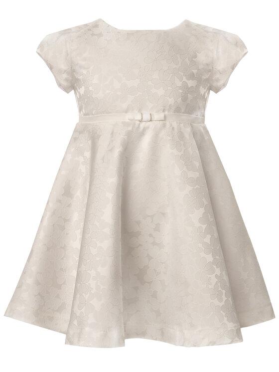 Mayoral Mayoral Elegantné šaty 3910 Biela Regular Fit