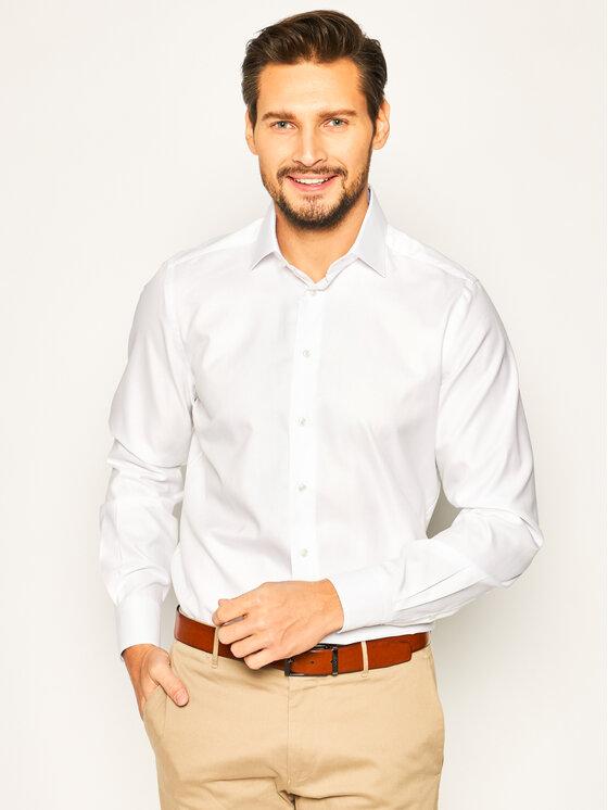 Emanuel Berg Marškiniai Crown PEB46897 Balta Modern Fit